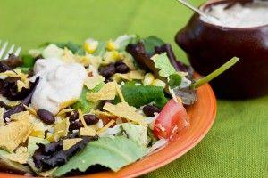 Lick the Bowl Clean Southwest Salad Dressing