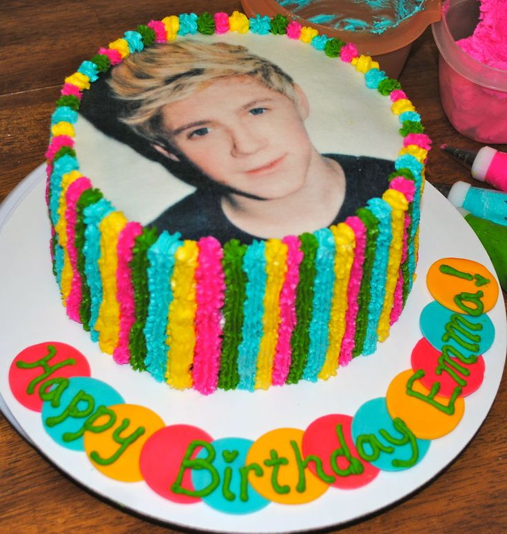 1 direction cake ideas | Niall ~ One Direction Cake