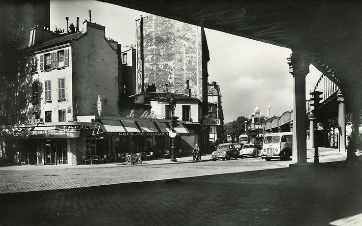 Angle faubourg saint martin et boulevard de la villette ann es 50 39 source cparama paris 1950 - Restaurant boulevard saint martin ...