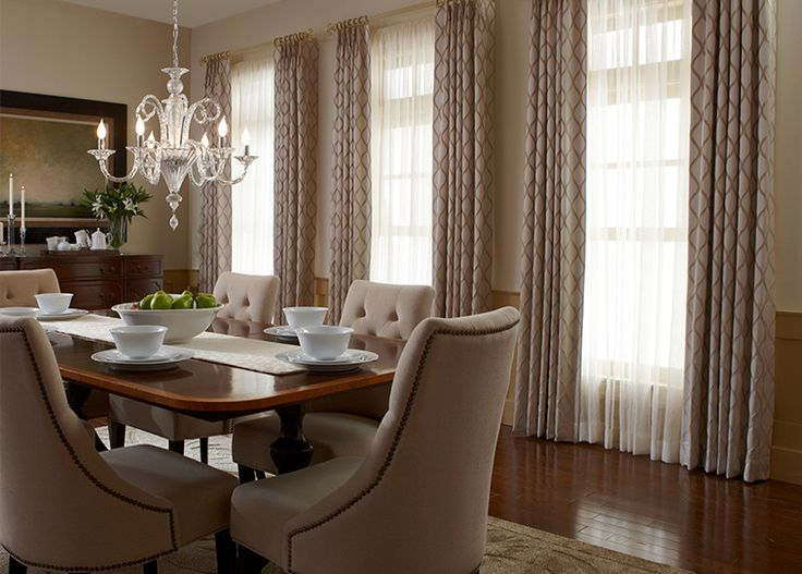 143 best budget blinds newsroom images on pinterest Dining room window curtains