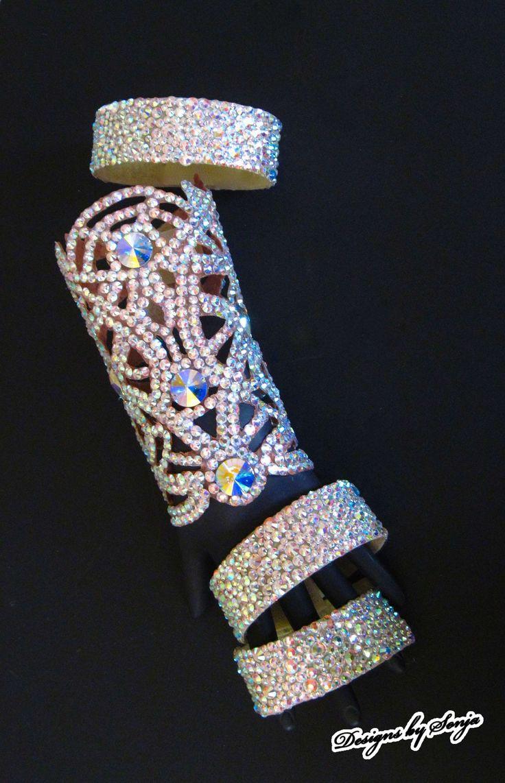 52 best Ballroom Jewelry Swarovski Crystal Bracelets images on