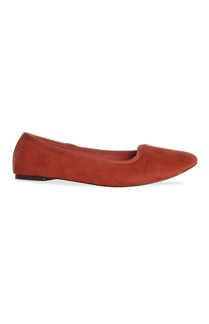 Loafer de camurça cor de laranja