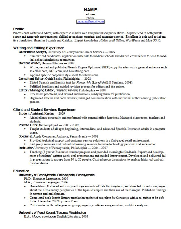 The  Best Latex Resume Template Ideas On   Latex