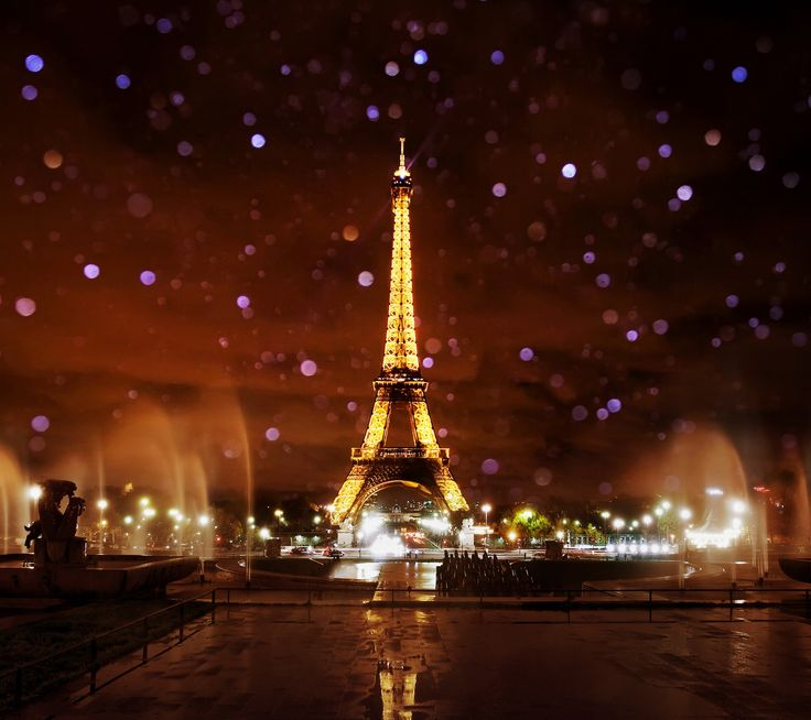 Paris The City Of Light: Paris By Night 2160 X 1920 Wallpapers