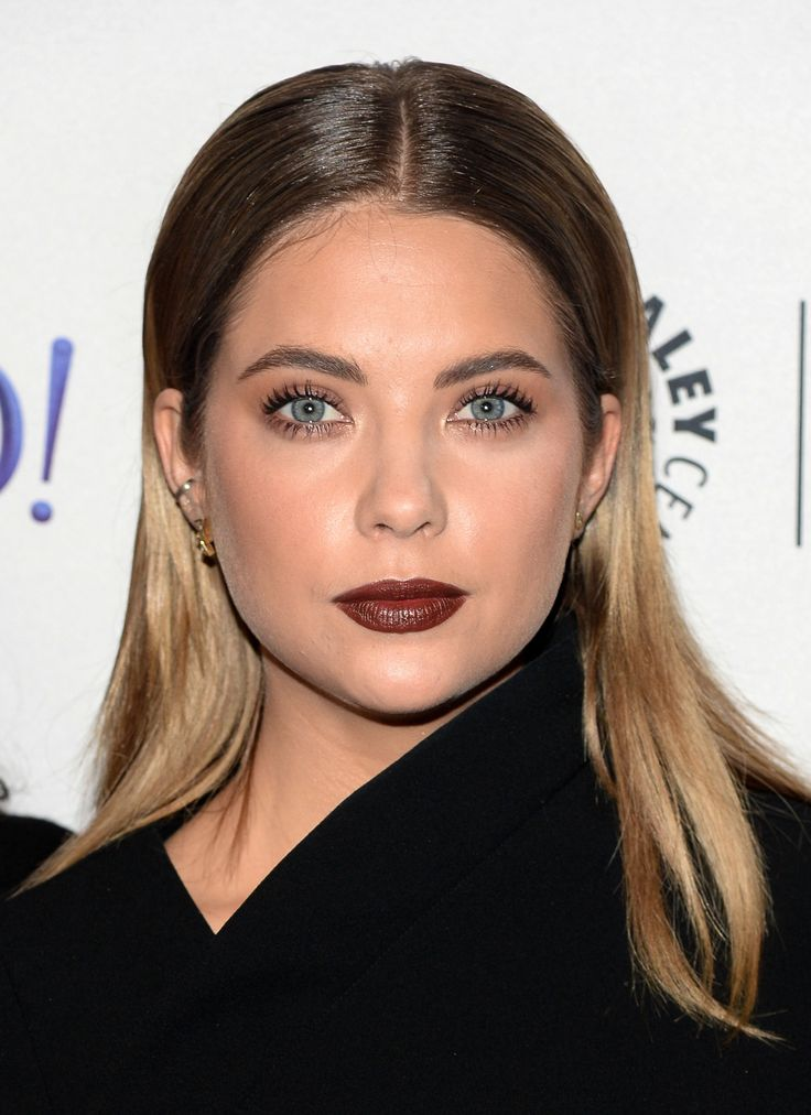 Ashley Benson called, and she says it's time to give your red lipstick a break. Luckily, the actress has a killer replacement for us all: matte merlot. Here's how to get it