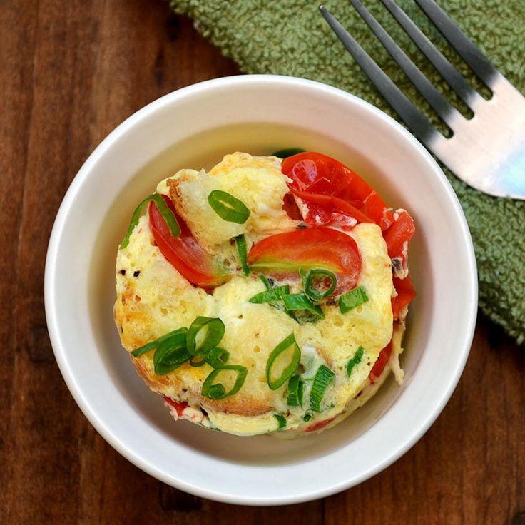 Mug Recipes: One-Minute Quiche - Fitnessmagazine.com