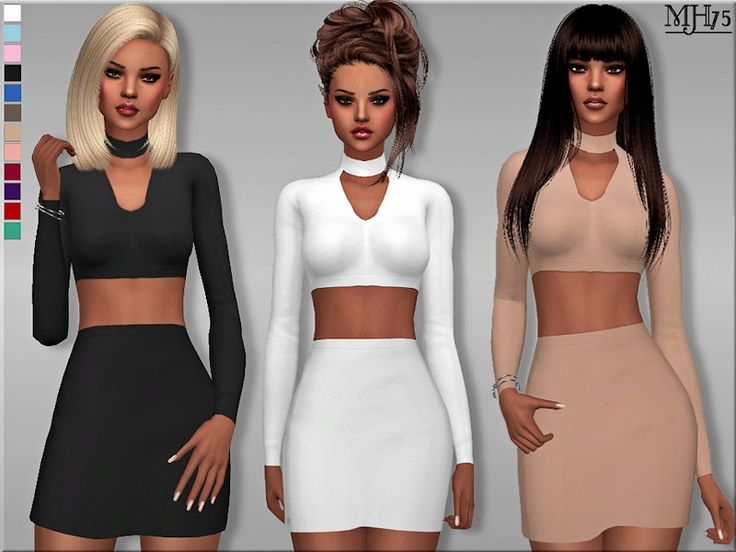 Margeh-75's S4 Choker Bodycon Outfit