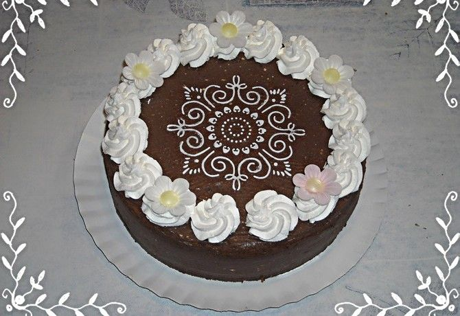 Diabetikus zsúr csokitorta
