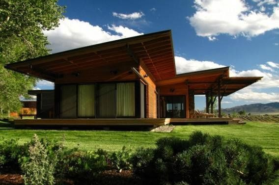 Ruby Springs pre-fab home in Big Sky Country | Proud Green Home