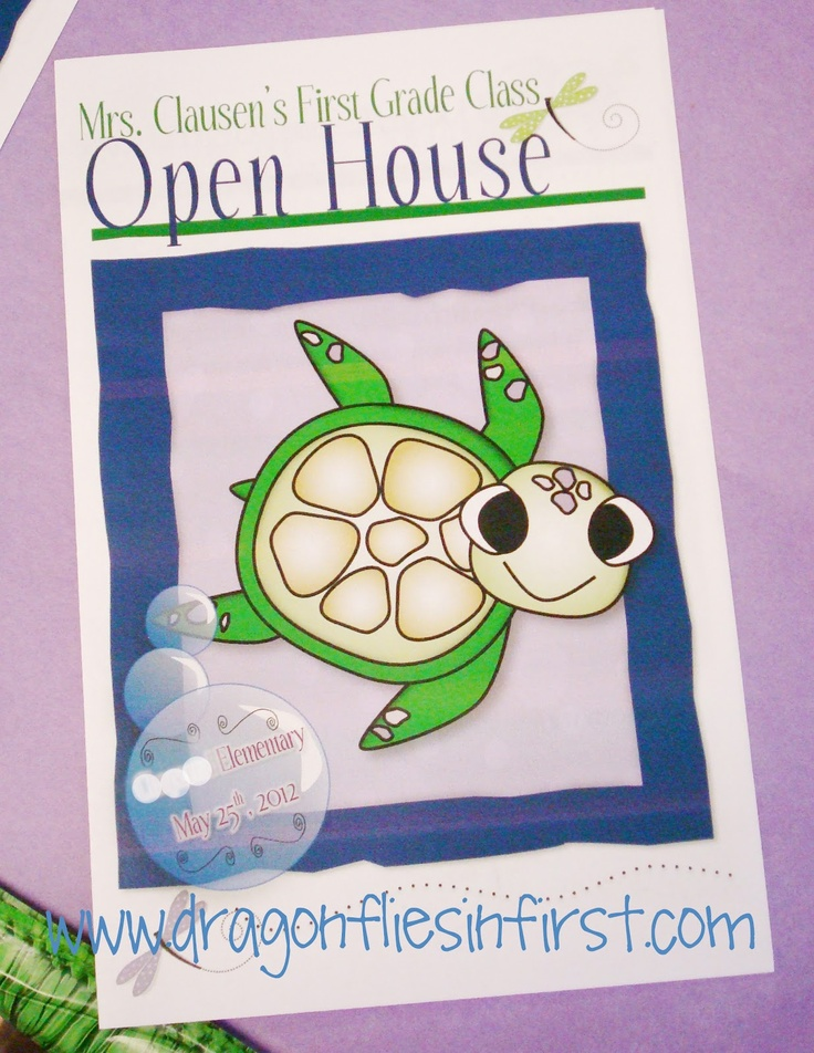 Best 25+ Open house brochure ideas on Pinterest | Curriculum night ...