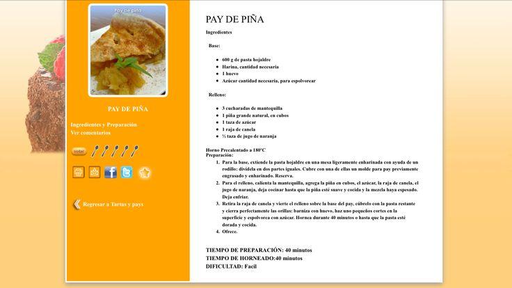 Pay de piña