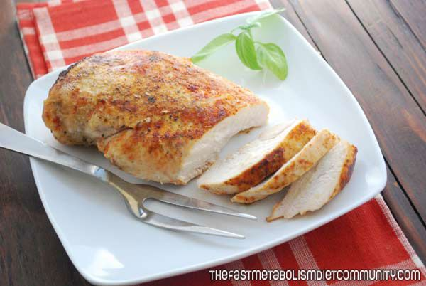 Easy, Healthy Baked Chicken Breasts – Phase 1
