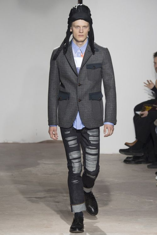 junya watanabe men's autumn/winter 2017/18 | junya watanabe reimagines mens outerwear for his 2016 fall winter ...