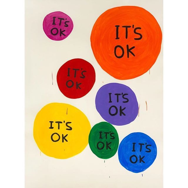 It's Friday, all is OK✌🏻️❤️ #tgif #friday #art #davidshrigley
