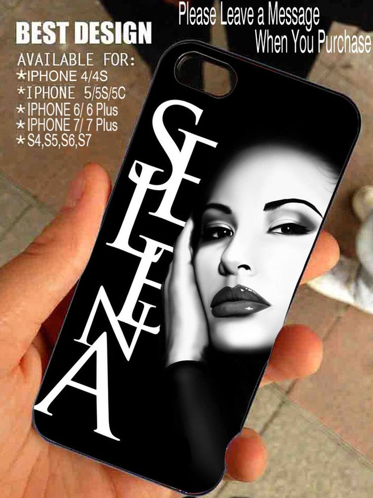 Selena Quintanilla Graphic Thypography for iPhone and Samsung Galaxy Case #UnbrandedGeneric