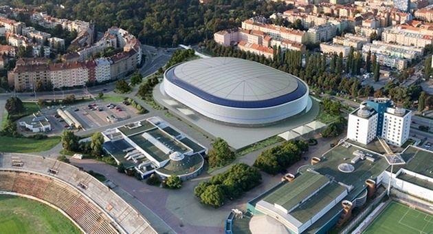 Návrh Zimního Stadionu Za Lužánkami - Brno