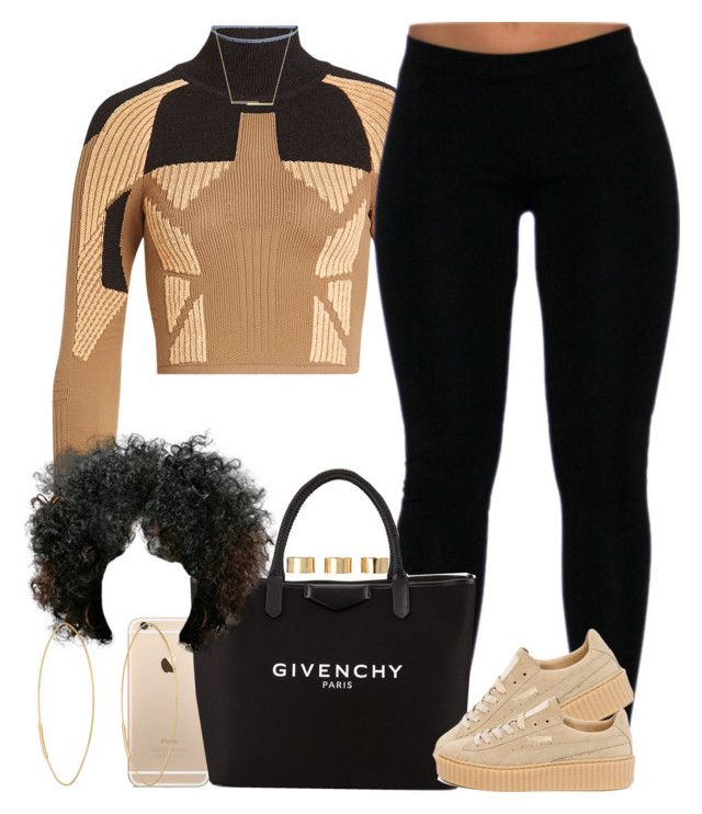 """Feeling tan. "" by livelifefreelyy ❤ liked on Polyvore featuring adidas Originals, Givenchy, Puma, ZoÃ« Chicco, Lana and ASOS"