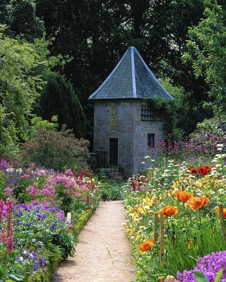 the walled garden at crathes castle scotland famous on walled id=37960