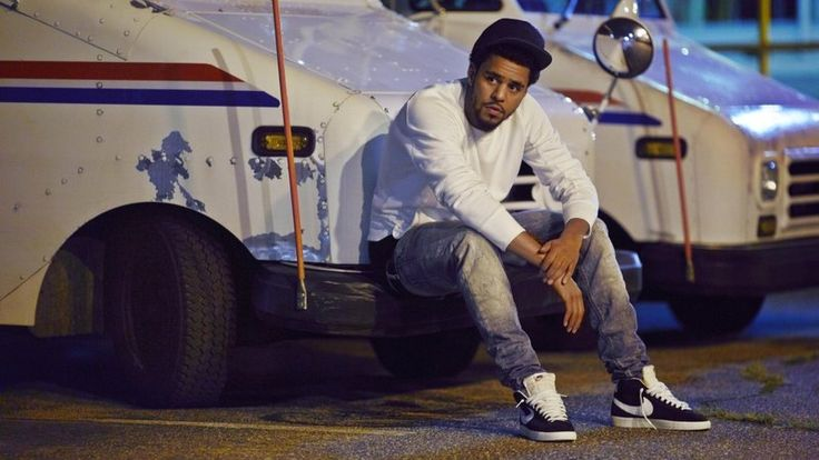 J Cole, whose mother supported him as a postal worker when he was a kid.
