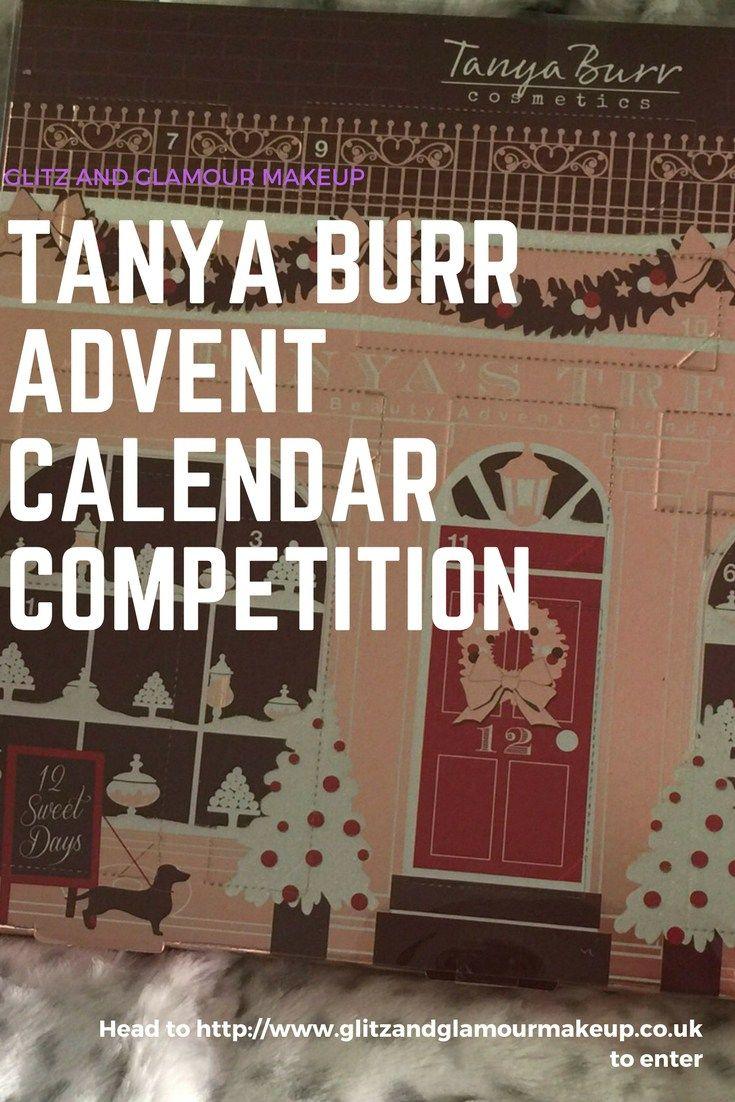 tanya burr advent calendar 2017 competition