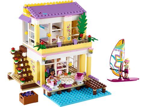 LEGO FRIENDS 41037 Stephanies strandhus
