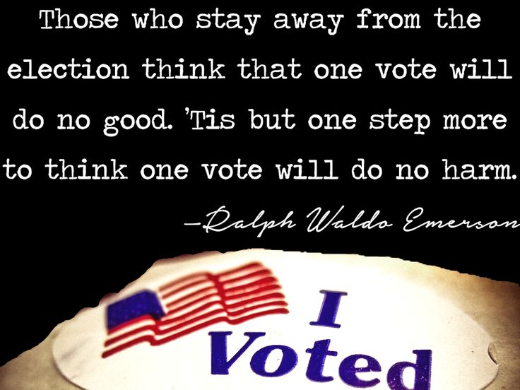 Inspirational Quotes about Voting for Election Day