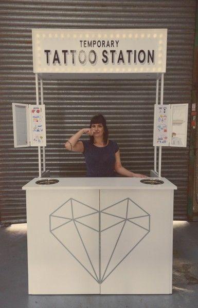 Doris Loves - Temporary Tattoo Station