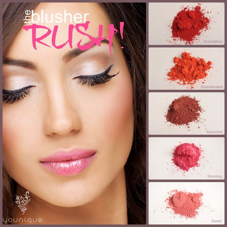 Have you experienced the Moodstruck Minerals Blusher RUSH?   100% mineral based. 100% chemical free. 100% must have.  https://www.youniqueproducts.com/products/view/US-1061-00#.Ummn3pTXTQk