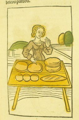 Bread in the Middle Ages, includes some history on medieval bread and a couple of recipes, one Persian
