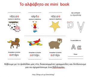 Fresh-Education : Το αλφάβητο σε mini book