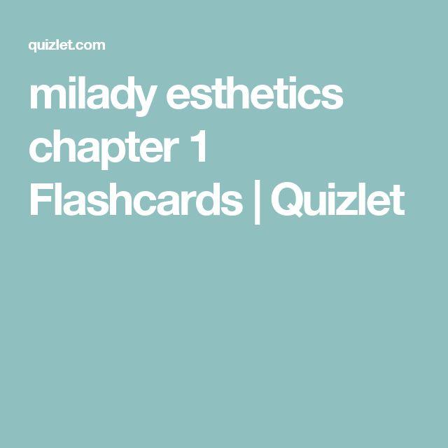 HISTORY OF COSMETICS milady esthetics chapter 1 Flashcards | Quizlet