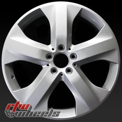 "Mercedes ML320 oem wheels for sale 2009. 19"" Silver rims 85071 - http://www.rtwwheels.com/store/shop/19-mercedes-ml320-oem-wheels-for-sale-silver-85071/"