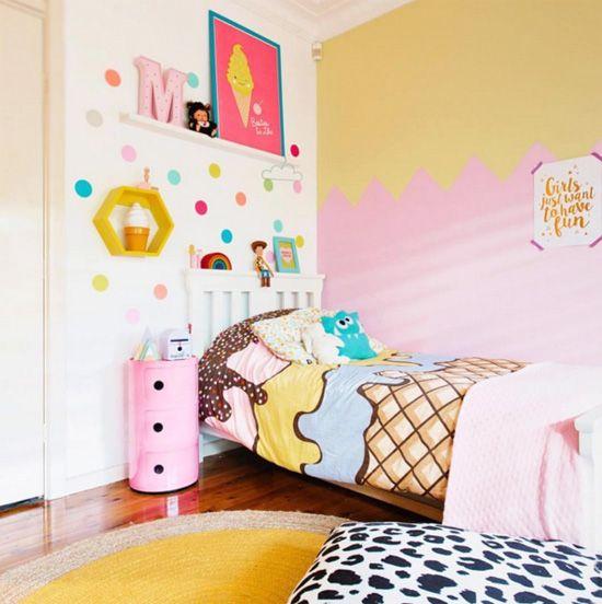 Déco chambre enfant gourmande 04