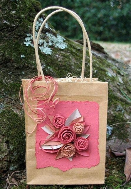 Plantable paper roses by all things paper, via Flickr
