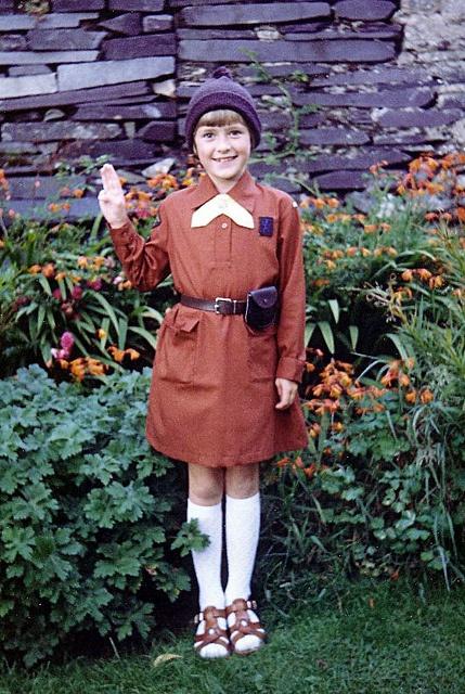 Brownie UK - this photo makes me so happy! I loved Brownies
