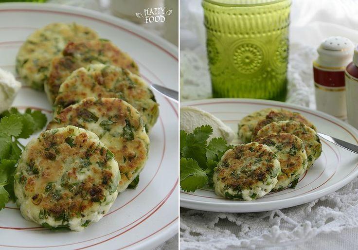 Несладкие сырники с зеленью