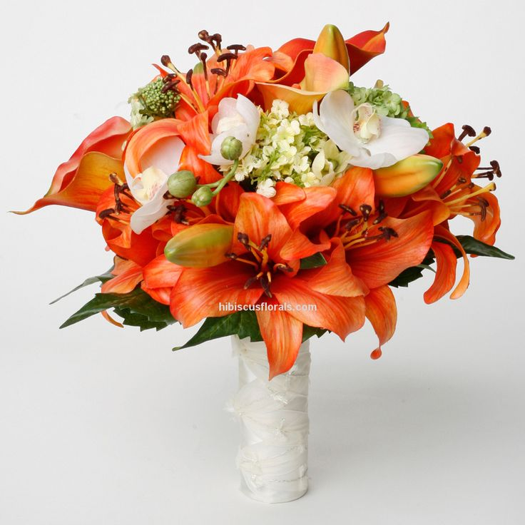 Orange Tiger Lily | mango-tango-calla-lilies-tiger-lilies-real-touch-wedding-bouquet-full ...