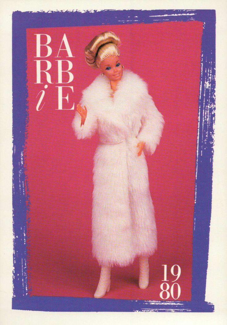 "Barbie Collectible Fashion Card "" Evening Elegance "" 1980 | Card Tarjeta 129"