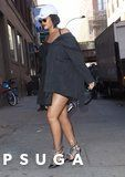 Only Rihanna Can Make a Pair of PVC Heels Look Fly as Hell