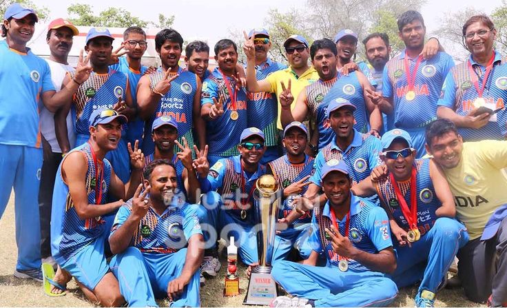 Afghanistan PwD team shows their mettle in Final T20 – India Won Divyang T20 Cricket Series by 2-1