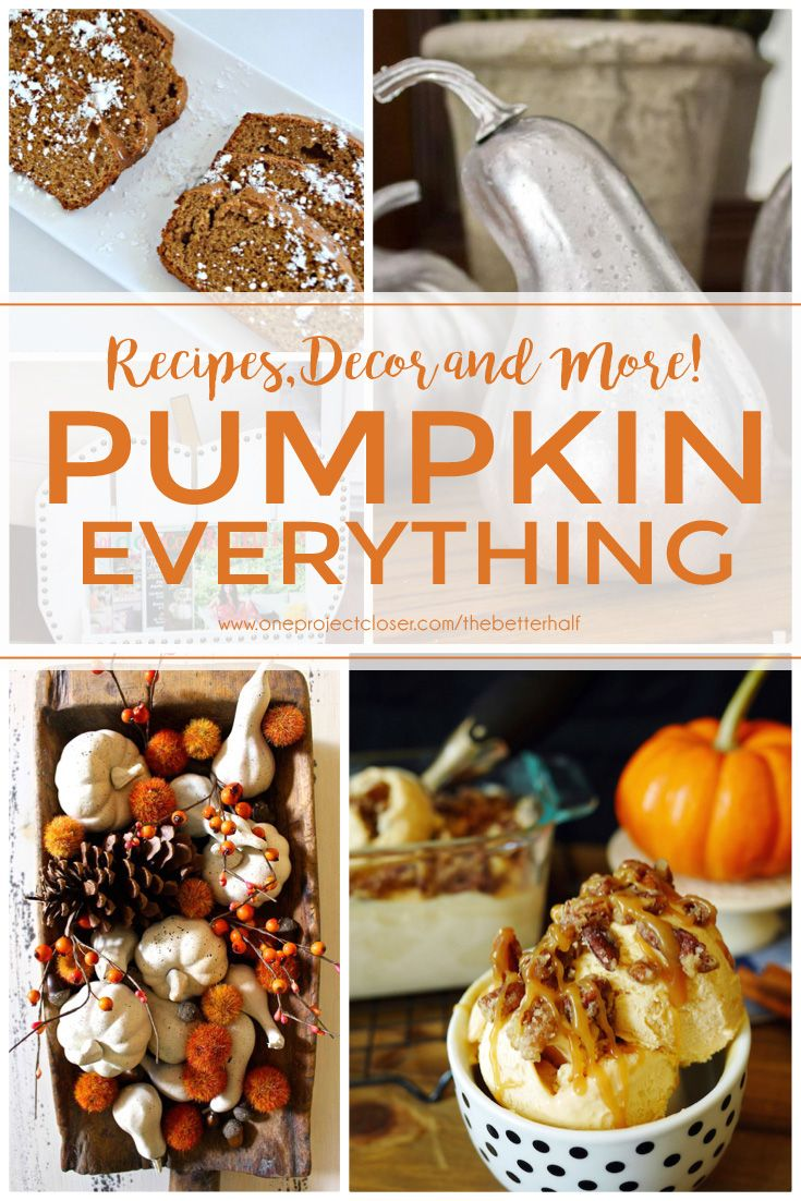 Give me all the pumpkin! I love pumpkin in the fall and these fall pumpkin recipes and decor are awesome!! from @jocieopc