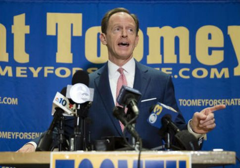 Toomey Perseveres Against McGinty in Senate's Most Expensive Race