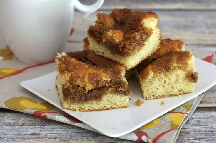 Streusel Coffee Cake With Brown Sugar and Cinnamon Crumb Topping