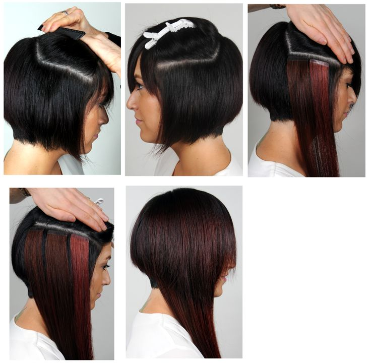 104 Best Extencion Images On Pinterest Tape In Hair Extensions