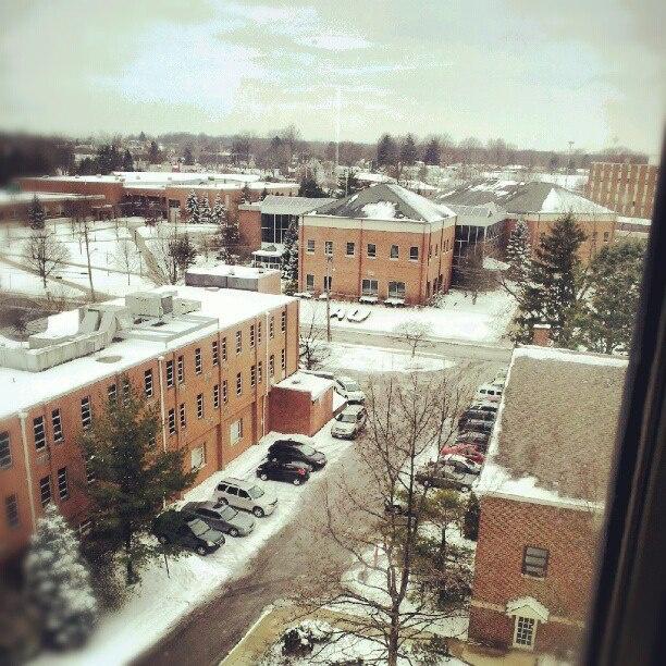 Ashland University - as seen from the 5th floor of the library ~ via Scenes @ AU, Ashland University