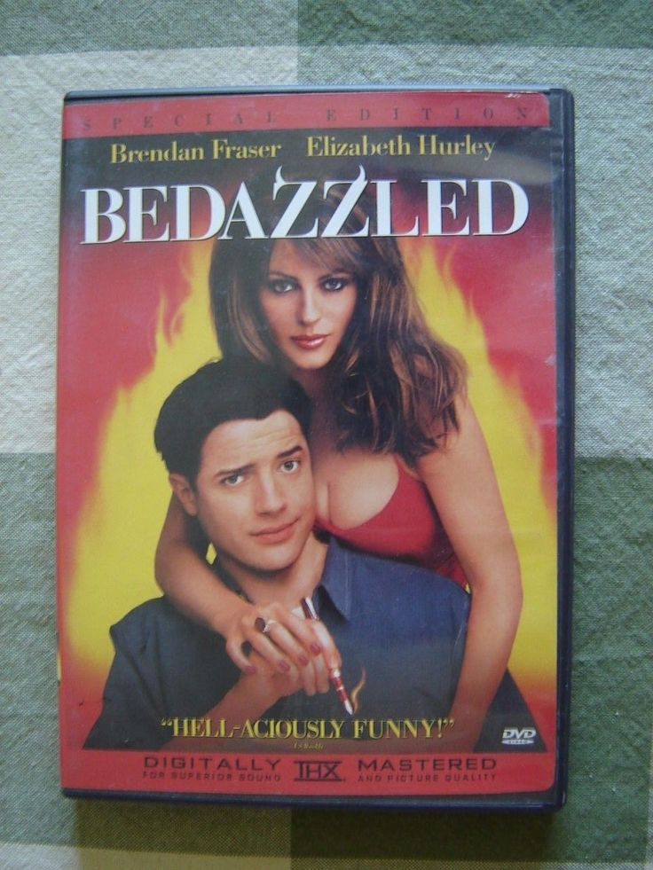 #New post #Bedazzled (DVD, 2001, Special Edition) Brendan Fraser, Elizabeth Hurley  http://i.ebayimg.com/images/g/tJgAAOSwNuxXcZuU/s-l1600.jpg      Item specifics     Condition:       Good: An item in used but good condition. May have minor damage to jewel case including scuffs or cracks,     ... https://www.shopnet.one/bedazzled-dvd-2001-spe
