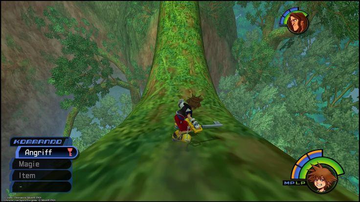 Kingdom Hearts 1.5- Minispiele - https://finalfantasydojo.de/walkthroughs/kingdom-hearts-1-5-minispiele-15582/ #KH15 Abgesehen von den Minispielen im 100 Morgenwald, gibt es im tiefen Dschungel noch zwei Minispiele die ihr antreten könnt.