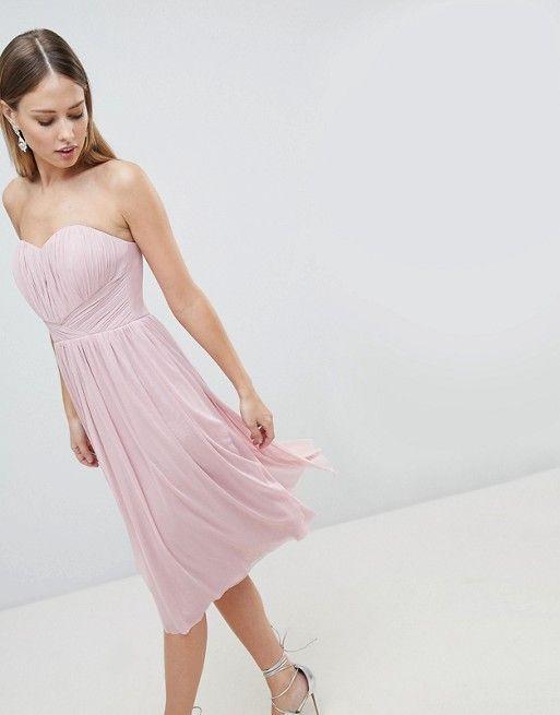 e8a41eb3df0fc4 Lipsy Multiway Midi Chiffon Dress in 2019