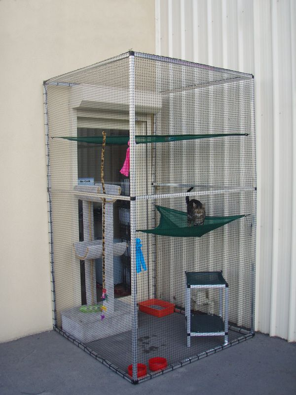 Kat Cubes - SecureaKat Cat Runs and Cat Enclosures - Australia Wide