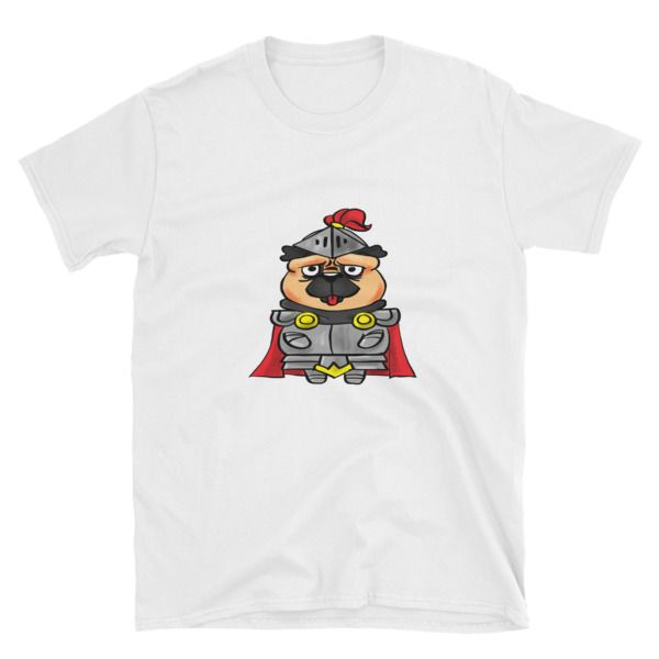 Pug In Shining Armour Mens T-Shirt